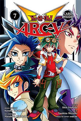 Cover of Yu-Gi-Oh! ARC-V, Volume 7, from VIZ Media, digital edition