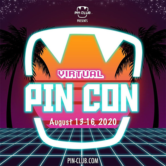 Pin Club's Virtual Pin Con logo