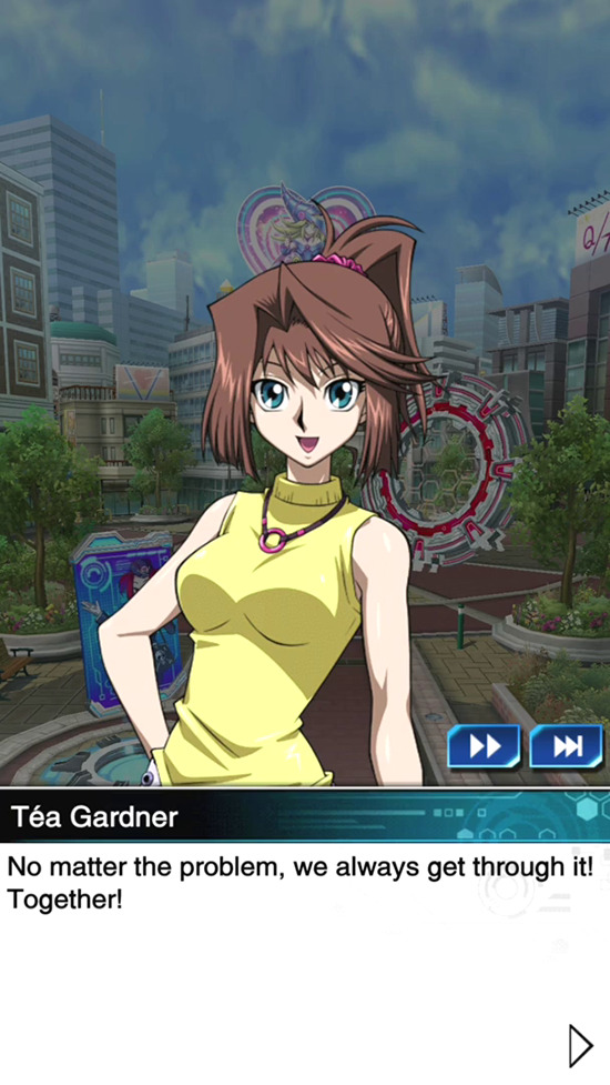 Dark Side of Dimensions Téa Gardner in Yu-Gi-Oh! Duel Links