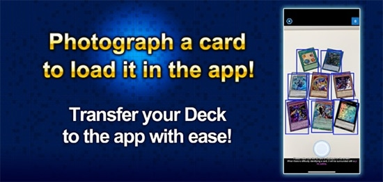 Photograph a card to load it into Yu-Gi-Oh! NEURON
