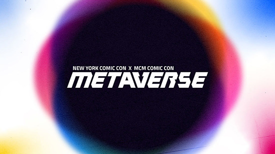 New York Comic Con x MCM Comic Con Metaverse logo
