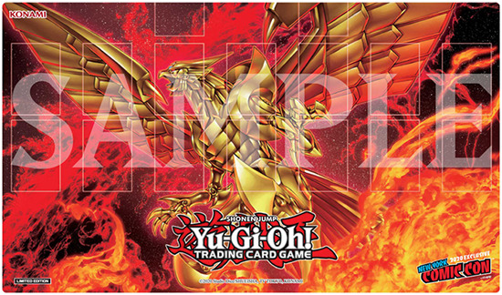 The Winged Dragon of Ra exclusive playmat