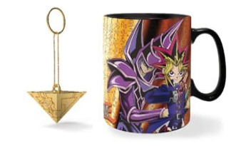 Mock-ups of Abysse Corp's Yu-Gi-Oh! products