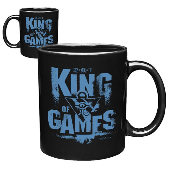 King of Games ceramic mug from Shop-YuGiOh.com