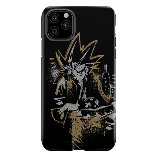 Yugi and the City iPhone Pro 11 Max tough cellphone case from Shop-YuGiOh.com