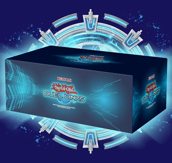 Yu-Gi-Oh! Duel Links 4th Anniversary Sweepstakes custom box prize