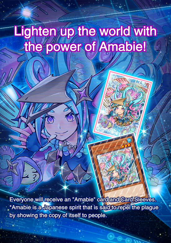 Amabie giveaway campaign in Yu-Gi-Oh! Duel Links