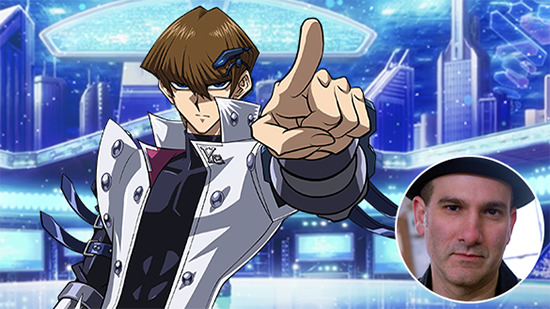 Virtual Seto Kaiba is voiced and portrayed by Eric Stuart
