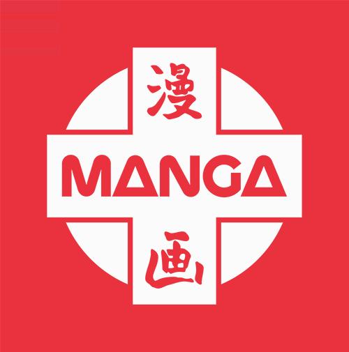 The Manga UK logo, as seen on MangaUK.com on April 12, 2021