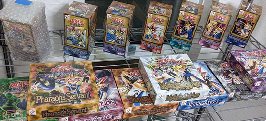 Some of the Yu-Gi-Oh! cards auctioned off by dnlay04438 on Yahuoku!
