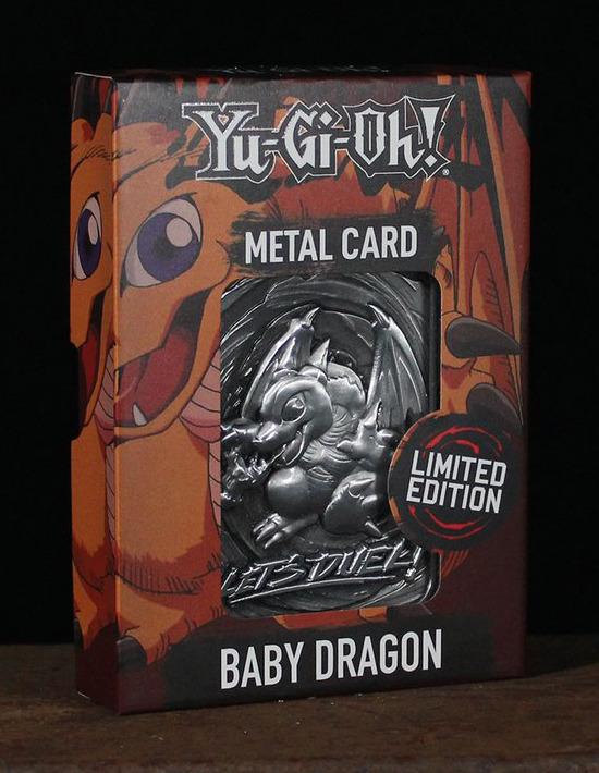 Baby Dragon metal card by Fanattik in its display box
