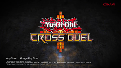 Yu-Gi-Oh! Cross Duel logo, as shown in Yu-Gi-Oh! Digital Next