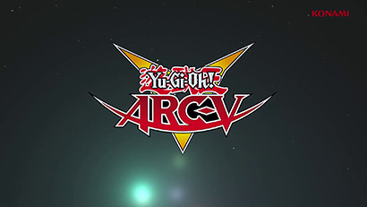 Yu-Gi-Oh! ARC-V logo, as shown in Yu-Gi-Oh! Digital Next