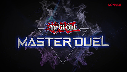 Yu-Gi-Oh! Master Duel logo, as shown in Yu-Gi-Oh! Digital Next