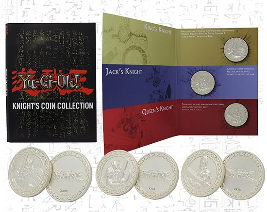 Knight's Coin Collection set by Fanattik